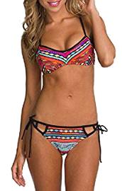 Bikini push up de playa