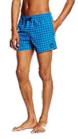 Bañador Adidas a cuadros para hombre