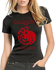 Blusa Juego De Tronos emblema casa Targaryen