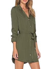 Blusa vestido corto elegante 2017