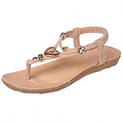 Sandalias flip flop con corazón