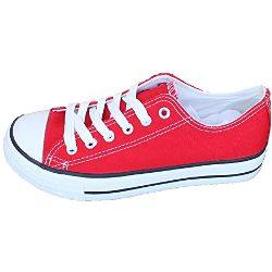 Zapatos de lona estilo casual y deportivo, Varios colores