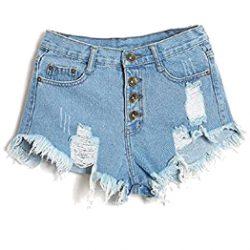Pantalones cortos altos vintage