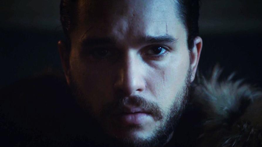 Jon Nieve, en el norte, en el trono de Winterfell Invernalia Juego de tronos