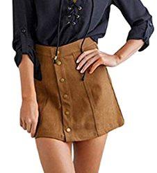 Mini falda de moda retro vintage