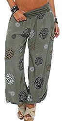 Pantalones de verano bloomers holgados