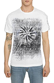 Remera camiseta retro vintage con diseño rock