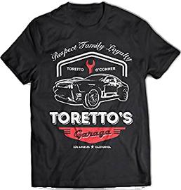 Remera de rapido y furioso 8 Toretto's garage